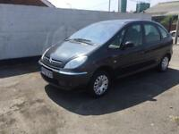 Citroen Xsara Picasso Desire 2 HDi 2.0 90hp Manual Diesel Grey 5 Door MPV 2005
