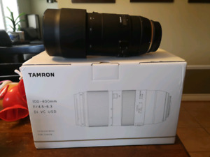 Mint Tamron 100-400mm VC SP lens for Canon