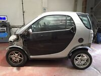 Smart Car Fortwo 450 Breaking for engine and all parts