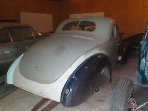 ****REDUCED!!!**** 1939 FORD COUPE HOTROD PROJECT