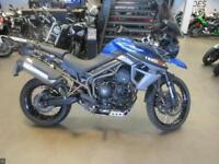 2015 TRIUMPH TIGER 800 XCX LOW RIDE HEIGHT 9012 MILES