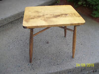 Vintage Children's Wooden Play Table
