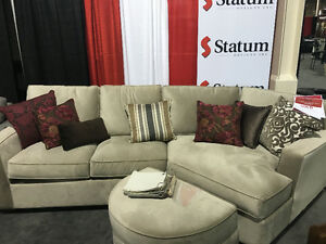 FS: Sectional custom couch almost new $1100  made in Canada