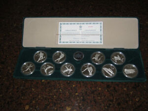 1988 Olympic Silver coins