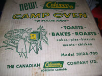 new coleman camp oven