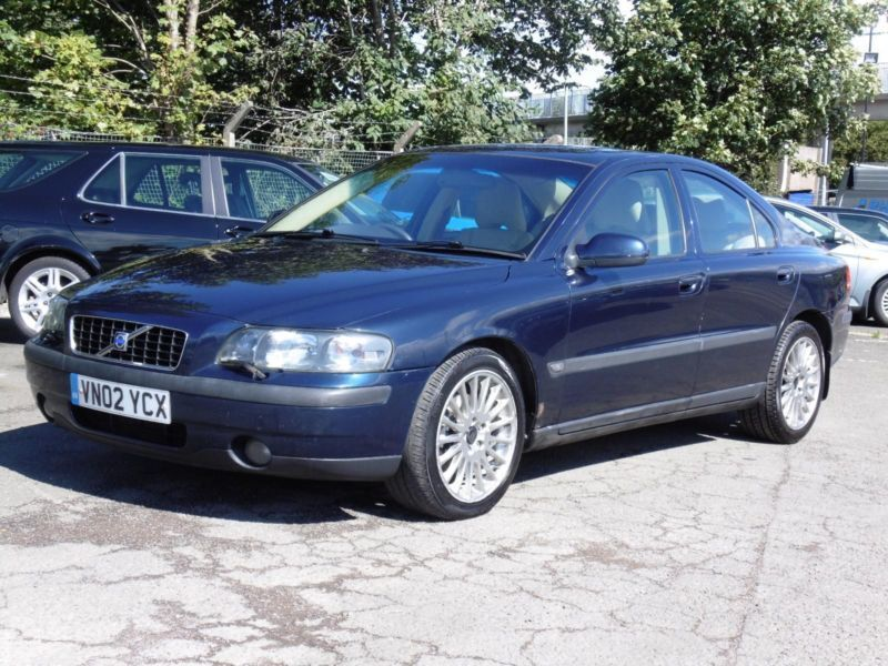 volvo s60 2 4 2002 d5 se saloon fsh 1 years mot in. Black Bedroom Furniture Sets. Home Design Ideas