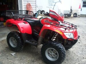 2009 500cc arctic cat 4x4 automatic with extra's