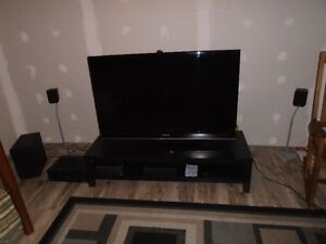 "52"" Samsung LCD TV with Yamaha Surround Sound"