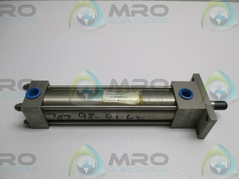 """TRD MANUFACTURING 1-1/2""""x6"""" CYLINDER * NEW NO BOX *"""