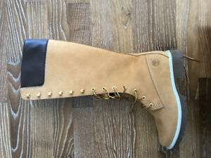 Timberland knee high leather boots