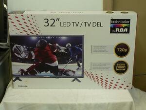 *NEUF* Téléviseur 32ʺ LED, marque RCA à $199+Tx