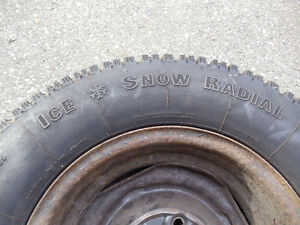 Ice & Snow Radial Tires - P205 70/R14 Cambridge Kitchener Area image 1