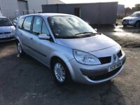 Renault Megane Grand Scenic 1.9 Dci, *7 Seater great Family Mpv* Leather, Air Con, Alloys, Warranty