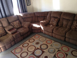 Large Ashley furniture reclining SECTIONAL for sale Sarnia Sarnia Area image 1