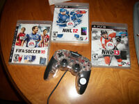 PS3 Games and controller For Sale