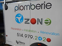 plombier PROFESSIONNEL plomberie Ozone 514.979.2020