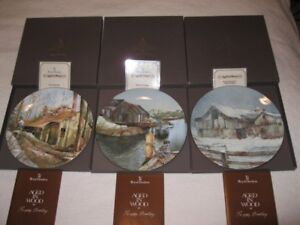 "Royal Doulton ""Aged in Wood"" Collector Plates"