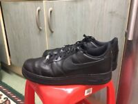 Nike Air Force ,size 12 , worn twice at gym , great condition