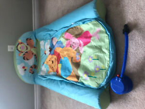 Winnie the Pooh inflatable toddler bed