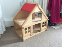 Wooden dolls house STILL AVAILABLE