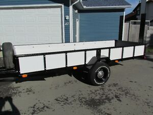 2016 14Foot Fully Welded Heavy Duty Utility Trailer for any need
