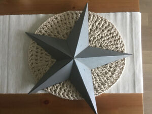 Decorative Star! Weathered Farmhouse Style!