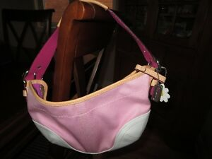 Coach Pink Small Handbag - New Without Tags