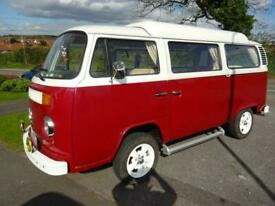 Volkswagen T2 JP White conversion 2 berth 4 belt pop top camper van for sale