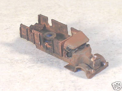 N Scale 1926 Rusted out Mack Alligator Nose Truck, part # 932739