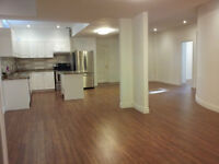 Newly finished Walk out basement 2 bedrooms Apartment for Rent