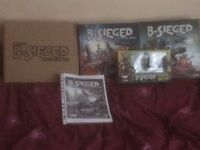 B-sieged core, expansion and Kickstarter extras
