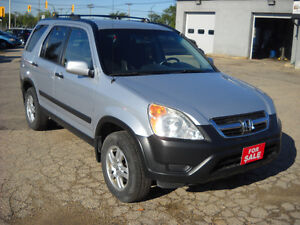 2004 HONDA CRV  AUTOMATIC 196000 KMS REDUCED PRICE $ 6995