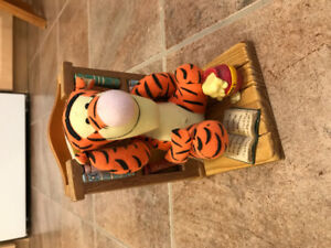 Tiger kids book end with book included