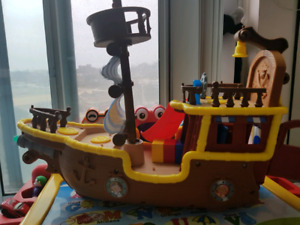 Jake and the Nederland pirates ship