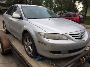 2004 Mazda 6 (Parting Out)