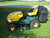 """Excellent Yard Man 46"""" 20 hp Rider with Bagging System"""
