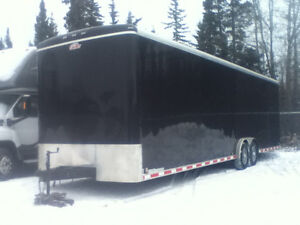 2016 32' enclosed trailer