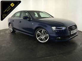 2013 63 AUDI A4 S LINE TDI DIESEL 4 DOOR SALOON 1 OWNER FINANCE PX WELCOME