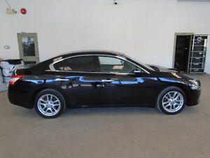 2010 NISSAN MAXIMA S! LEATHER! BLACK ON BLACK! ONLY $11,900!!!!