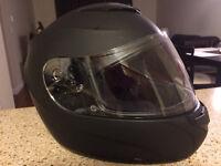 Womens HJC Matte Black Helmet