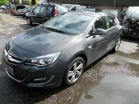 Vauxhall Astra 1.6i VVT 16v ( 115ps ) SRi DAMAGED REPAIRABLE SALVAGE