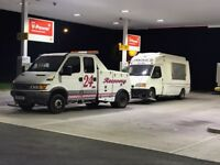 24/7 Breakdown Recovery & Repair Service Fast Friendly Reliable Service