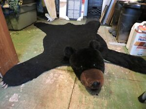 Faux Bear Rug 68 by 54 inches
