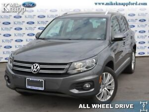 2012 Volkswagen Tiguan Highline  - Sunroof -  Leather Seats