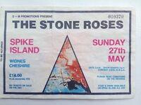 Original Spike Island Ticket Stub