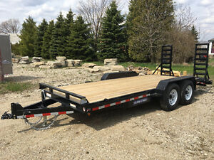 7x18      14k Implement trailer Kitchener / Waterloo Kitchener Area image 2