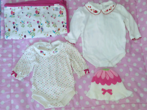 Winter outfits, baby girl clothing 2$