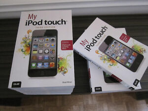 Book - My iPod Touch - NEW, Paperback Edition