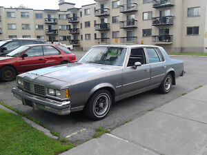 1984 Oldsmobile Cutlass Supreme Brought Sedan