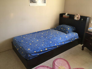 single bed+mattress in great condition, $70 obo